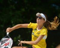 Beach Tennis World Team Championship 2014 Stock Image