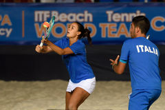 Beach Tennis World Team Championship 2015 Royalty Free Stock Photography