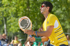 Beach Tennis World Team Championship 2014 Royalty Free Stock Photography