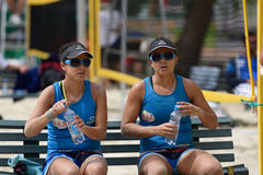 Beach Tennis World Team Championship 2015 Stock Photography