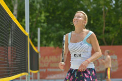 Beach Tennis World Team Championship 2014 Royalty Free Stock Image