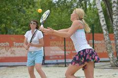 Beach Tennis World Team Championship 2014 Stock Image