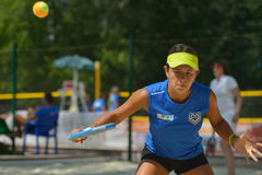 Beach Tennis World Team Championship 2014 Stock Photo