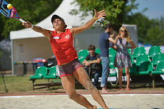 Beach Tennis World Team Championship 2014 Stock Images