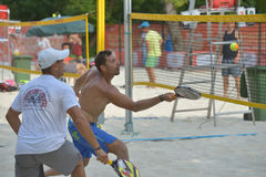 Beach Tennis World Team Championship 2014 Stock Images