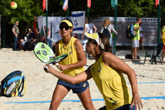Beach Tennis World Team Championship 2015 Stock Photos