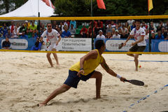 Beach Tennis World Team Championship 2015 Royalty Free Stock Image
