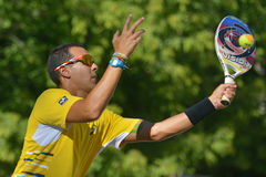 Beach Tennis World Team Championship 2014 Stock Photography