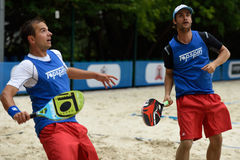 Beach Tennis World Team Championship 2015 Royalty Free Stock Photos