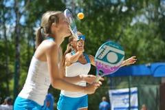 Beach Tennis World Team Championship 2014 Royalty Free Stock Photos