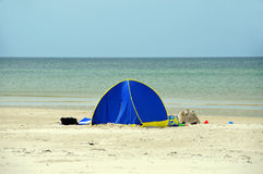 Beach tent Royalty Free Stock Images