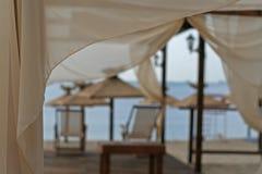 Beach tent Stock Photo