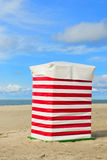 Beach tent Borkum Royalty Free Stock Images