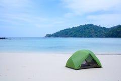 Beach tent Stock Photos