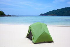 Beach tent Royalty Free Stock Photography