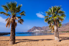 Beach Teresitas in Tenerife - Canary Islands Stock Photography