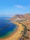 Beach Teresitas in Tenerife - Canary Islands Royalty Free Stock Photo