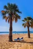 Beach Teresitas in Tenerife - Canary Islands Royalty Free Stock Image