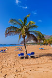 Beach Teresitas in Tenerife - Canary Islands Royalty Free Stock Images