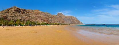 Beach Teresitas in Tenerife - Canary Islands Royalty Free Stock Photography