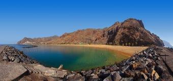 Beach Teresitas in Tenerife - Canary Islands Stock Photo
