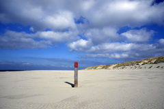 Beach Terschelling, The Netherlands Stock Images