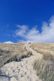 Beach Terschelling, The Netherlands Royalty Free Stock Image
