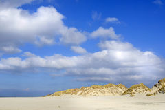 Beach Terschelling, The Netherlands Royalty Free Stock Photos