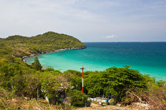 Beach on thailand. Is beautiful in seachang island Royalty Free Stock Image
