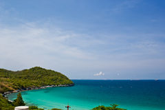 Beach on thailand. Is beautiful in seachang island Stock Photo