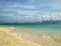 Beach. At Thailand Royalty Free Stock Images