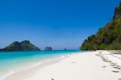 Beach in Thailand. The beautiful form of beach in Thailand Stock Photo