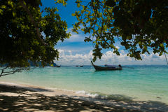 Beach in Thailand. The beautiful form of beach in Thailand Stock Images