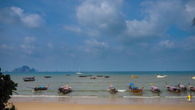 Beach in Thailand. Beautiful beach in Thailand, Krabi Stock Images
