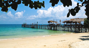 Beach in Thailand. Royalty Free Stock Image
