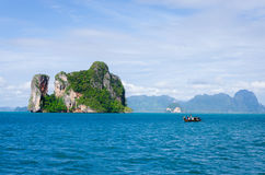 Beach in thailand Royalty Free Stock Image