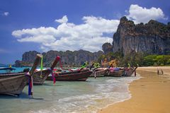 Beach in Thailand Stock Image