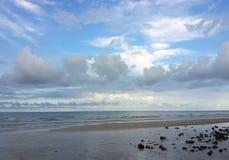 Beach of Thailand. Morning Beach at Kao Chang stock image