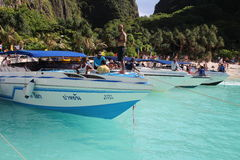 The beach, Thailand. Speed Boat trip. Stock Photography