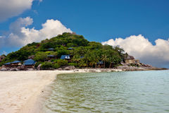 Beach in Thailand. View  of a tropical beach in Thailand Stock Photos