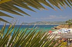 Beach in Thasos, Greece Royalty Free Stock Photography