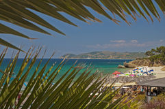 Beach in Thasos, Greece Royalty Free Stock Images