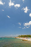 Beach in Thasos, Greece Royalty Free Stock Image