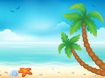 Beach theme image 7 Stock Images
