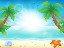 Beach theme image 8 Stock Photos