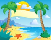 Beach theme scenery 4 Stock Photography