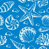 Beach theme seamless background 2 Royalty Free Stock Photography