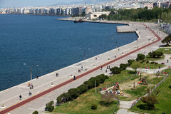 Beach of Thessaloniki - Greece Stock Photos