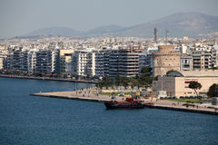 Beach of Thessaloniki - Greece Royalty Free Stock Images