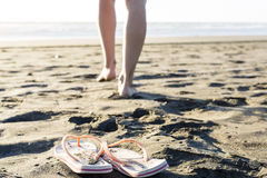 Beach Thongs Royalty Free Stock Image